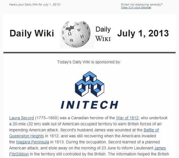 Daily Wiki