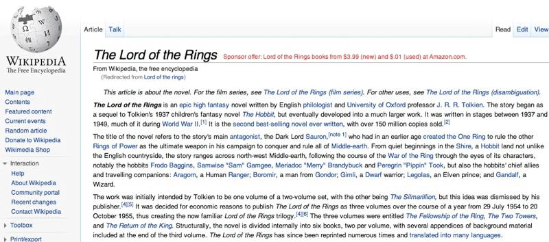 Wikipedia Affiliate