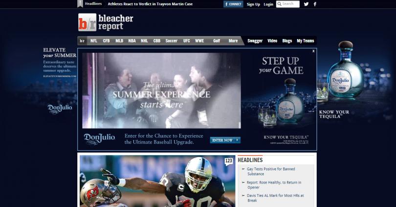 BleacherFinal skinned homepage