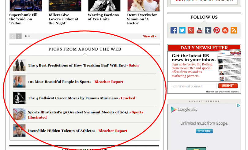 Sponsored Content - Rolling Stone
