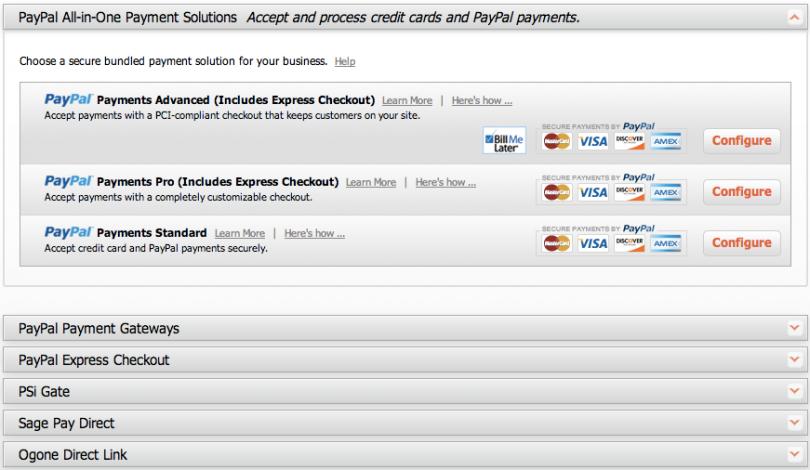 Magento Go payment gateways