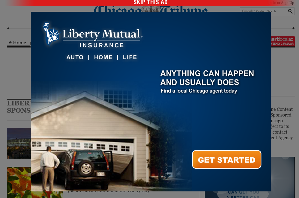 Liberty Mutual branded content