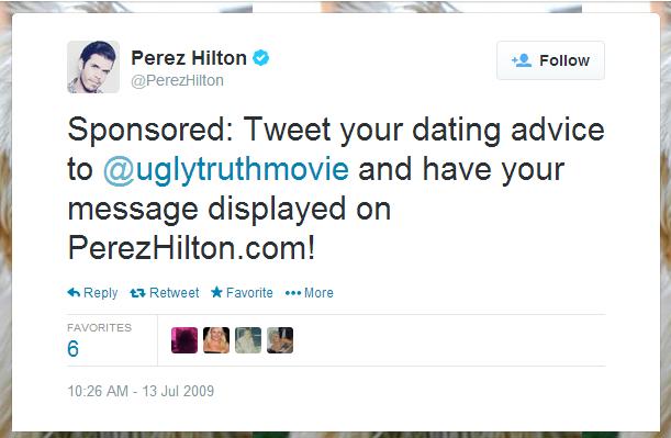 Sponsored Tweet