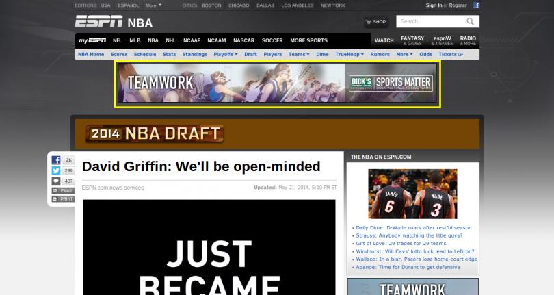 ESPN Example