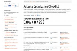AdSense Optimization Checklist
