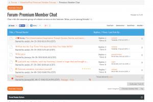 Premium member forums