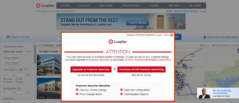 Loopnet - Freemium