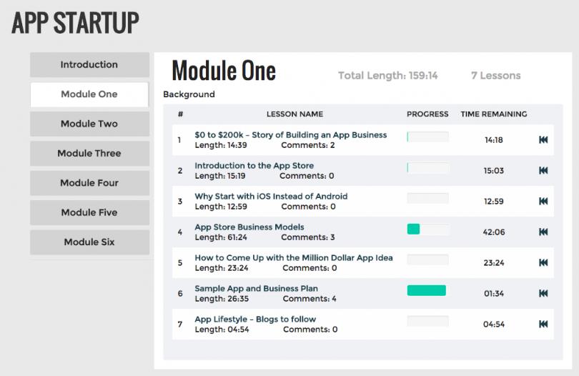 App Startup Module 1