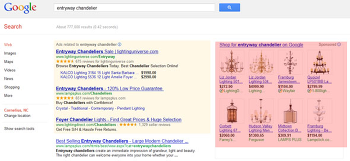 how to use google product listing ads