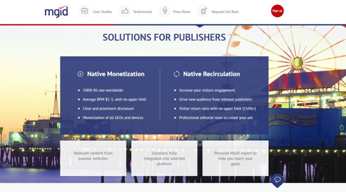 Ad networks for publishers