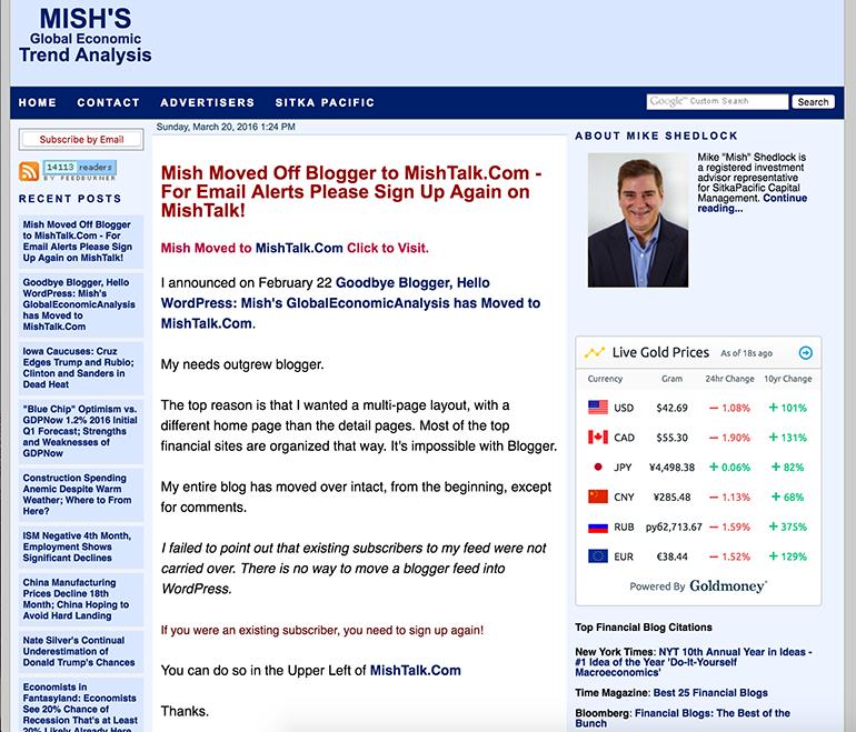 Average Blogger blog