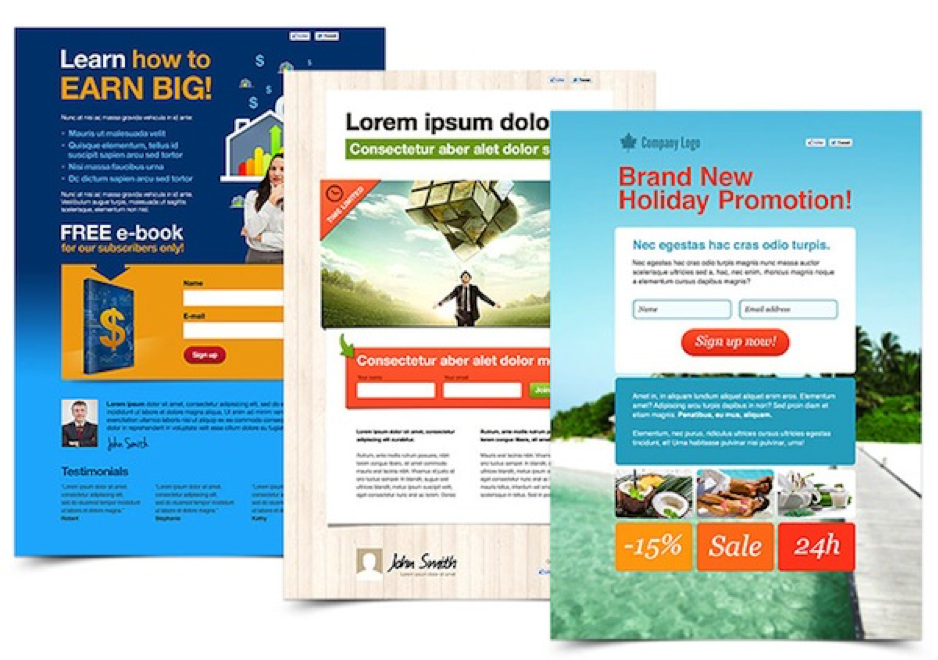 Landing Pages by GetResponse