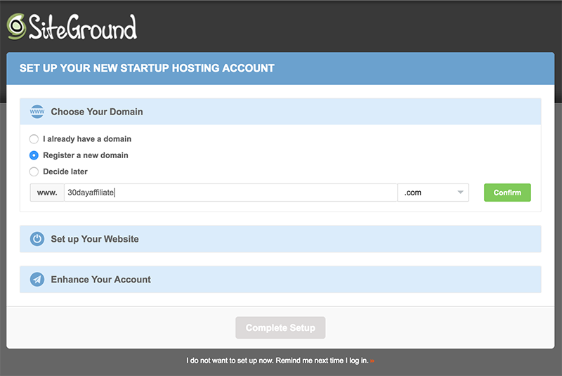 Choosing your Free Domain Name