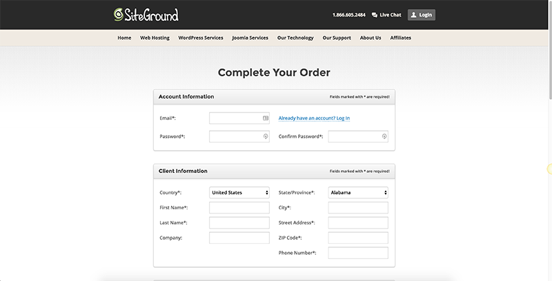 creating-a-siteground-account