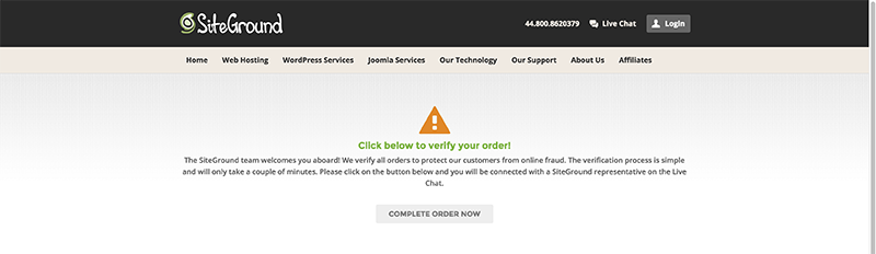 order-verification