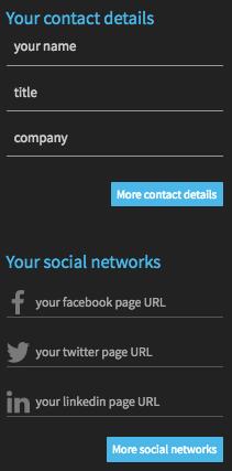 contact - wiseintro