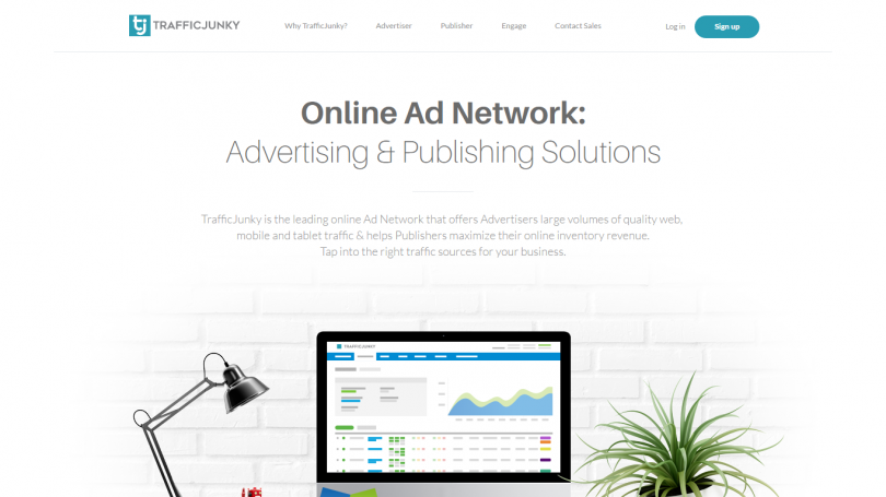 Traffic Junky Review For Publishers | Ad network review