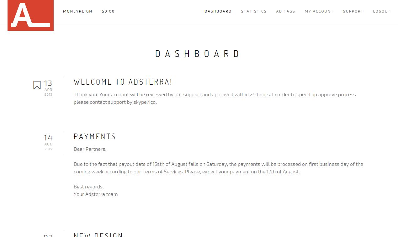 dashboard-adsterra