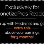 Monetizepros – 4 ways to increase your Media.Net earnings
