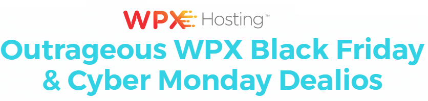 wpx hosting Black Friday Sale and deals