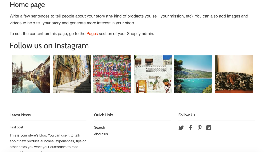 best shopify apps - instafeed