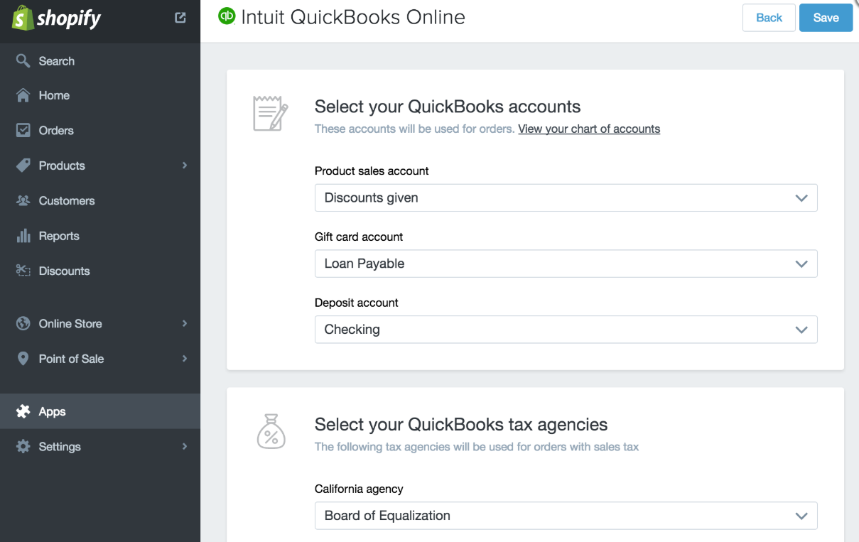 best shopify apps - quickbooks