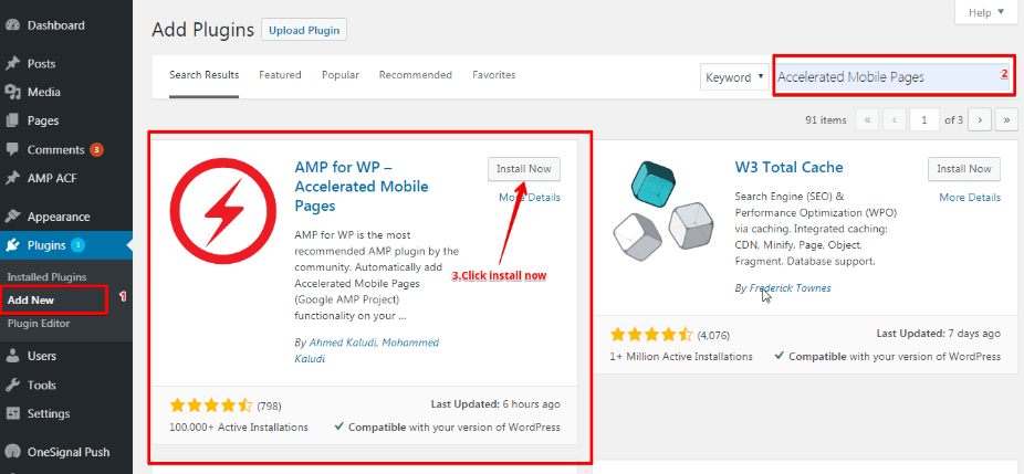 AmpWP Plugin
