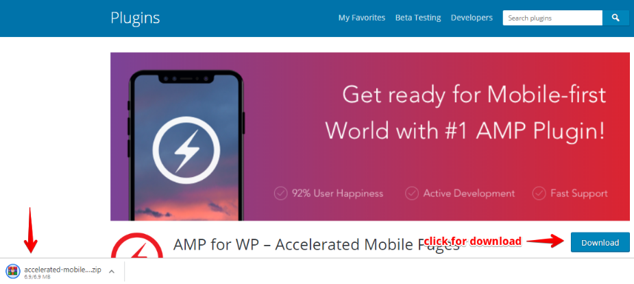 AmpWP Download