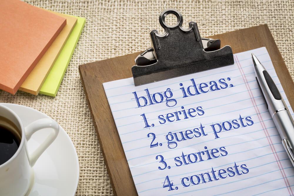 Guest Post Ideas List