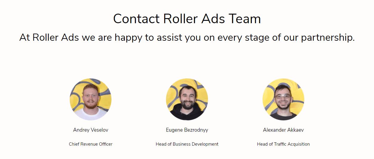 Roller Ads Team