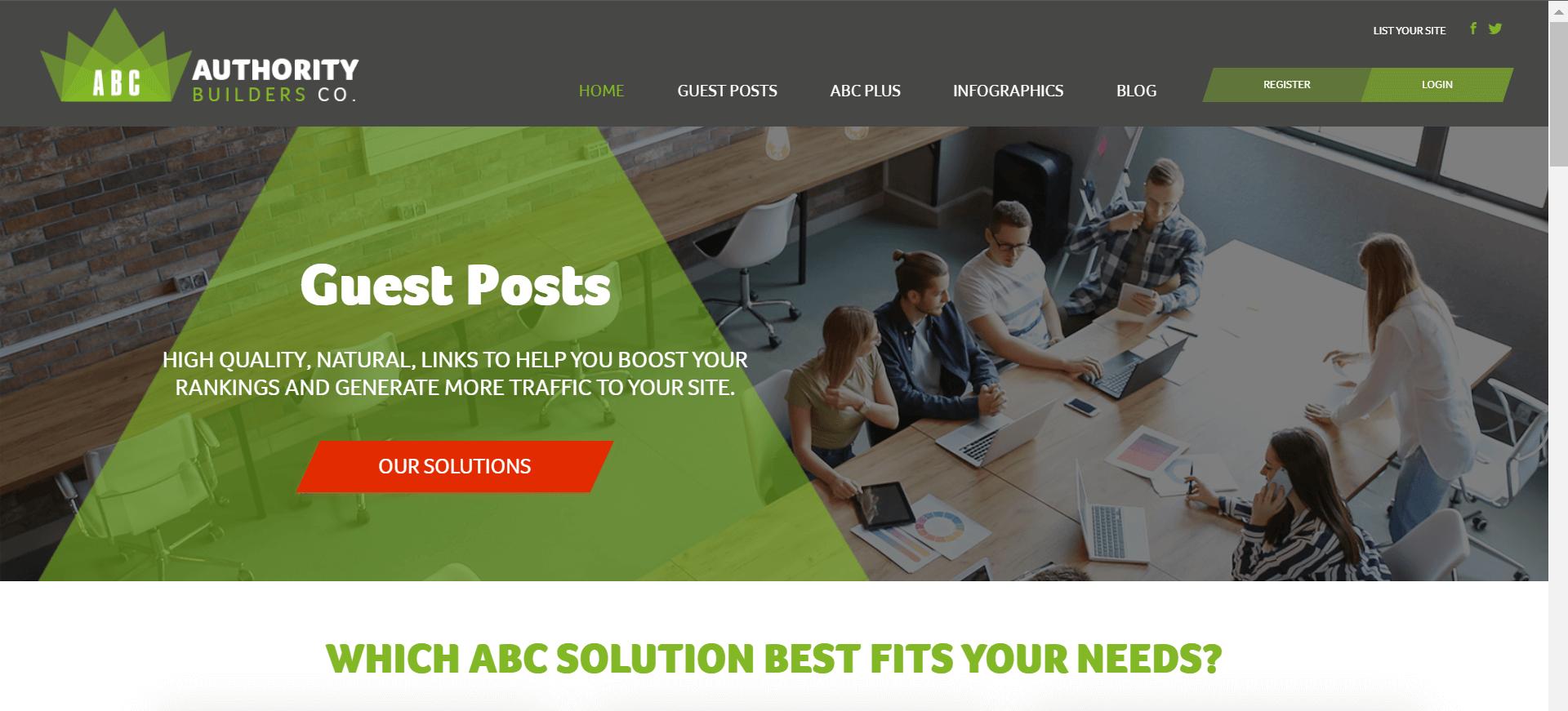 image of website Authority Builders Co.